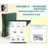 1949-1965 enzyklopädisches Album von den Standardstempeln von Frankreich