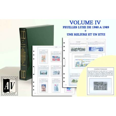 1849-1948 Album encyclopédique des timbres de France Luxe