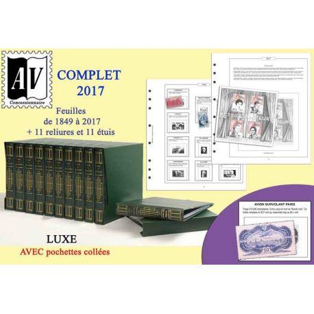 1849-2017 Album encyclopédique des timbres de France Luxe