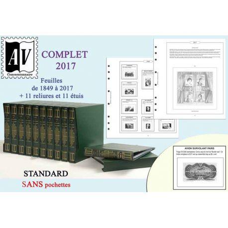 1849-2017 Album encyclopédique des timbres de France Standard