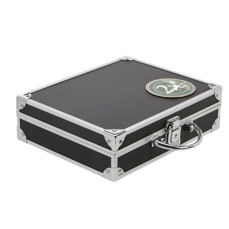 Numismatiker Koffer 144 Münzen 2 Euro unter Kapseln