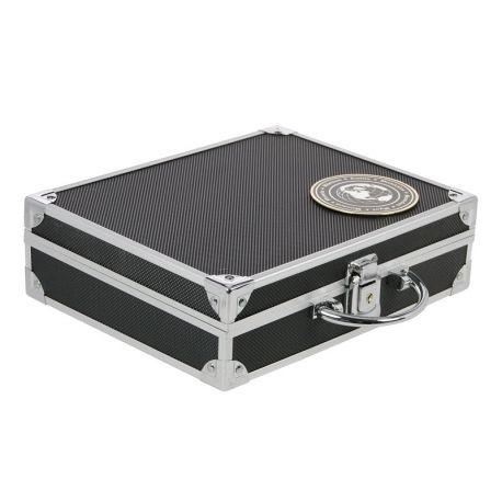 Numismatiker Koffer 30 Serien Euro unter Kapseln