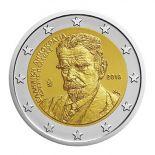 Grecia 2018 - moneta 2 euro commemorativa Kostis Palamas
