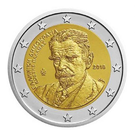 Griechenland 2018 - GedächtnisMünze 2 Euro Kostis Palamas