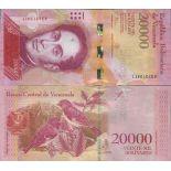 Banknotensammlung Venezuela - PK Nr. 99 - 20 000 Bolivares