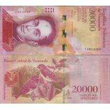 Billet de banque collection Venezuela - PK N° 99 - 20 000 Bolivares