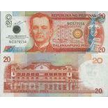 Banknotensammlung Philippinen - PK N ° 198 - 20 Pesos