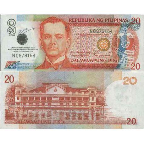 Billet de banque collection Philippines - PK N° 198 - 20 Pesos