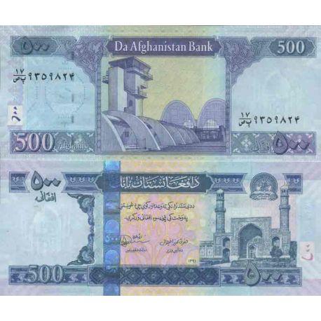 Billet de banque collection Afghanistan - PK N° 76C - 500 Afghanis