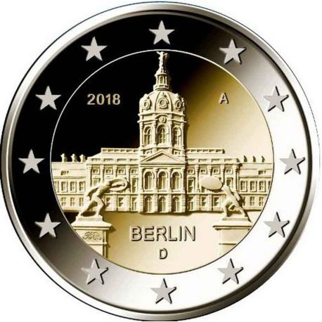 Allemagne - 2 Euro commémorative 2018 - Berlin