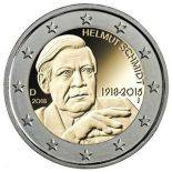 Germany - 2 Euro commemorative 2018 - Helmut schmidt