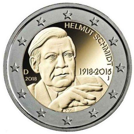 Alemania - 2 Euro conmemorativa 2014 de color Modelo 2