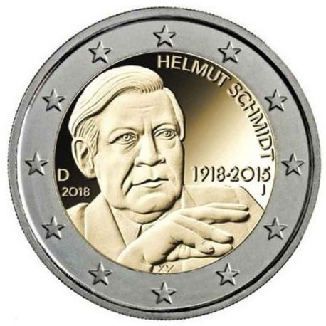 Germania - 2 euro commemorativa 2014 colore tipo 2