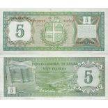 Banknote collection Aruba - PK N ° 1 - 5 Florin
