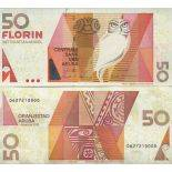 Billet de banque collection Aruba - PK N° 18 - 50 Florin