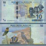 Banknote collection Bolivia - PK N ° 999 - 10 Boliviano