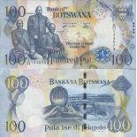 Colección de billetes Botswana - PK N ° 29 - 100 Pula