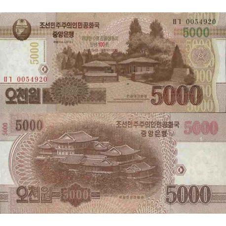 Collezione banconote Corea del Nord - PK N ° 18CS - 5.000 won