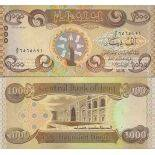 Billet de banque collection Irak - PK N° 999 - 1 000 Dinar