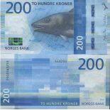 Banknotensammlung Norwegen - PK N ° 55 - 200 Krone