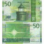Banknotensammlung Norwegen - PK N ° 999 - 50 Krone