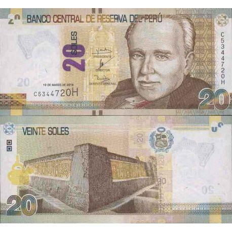 Banknote collection Peru - PK N ° 999 - 20 Floor
