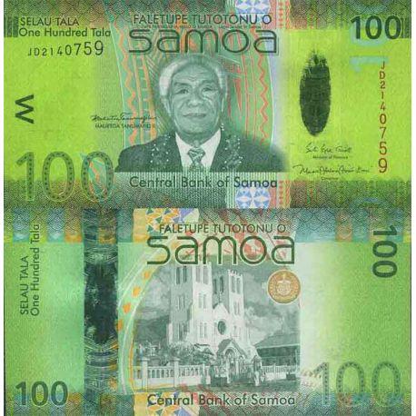 Billet de banque collection Samoa - PK N° 44 - 100 Tala