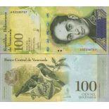 Banknotensammlung Venezuela - PK N ° 100 - 100.000 Bolivares
