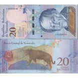 Banknote collection Venezuela - PK N ° 999 - 20 Bolivares