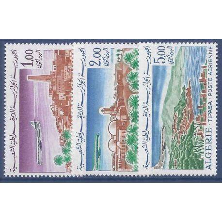 Timbre collection Algérie N° Yvert et Tellier PA15/17 Neuf sans charnière