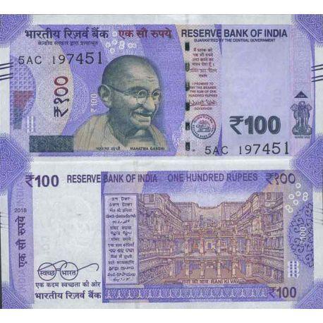 Billet de banque collection Inde - PK N° 999 - 100 Rupee