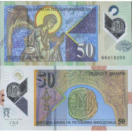 Billets de collection Billet de banque collection Macédoine - PK N° 999 - 50 Denar Billets de Macedoine 4,00 €