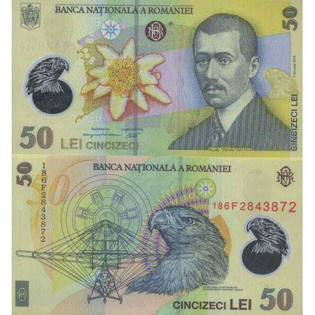 Billet de banque collection Roumanie - PK N° 999 - 50 Leu
