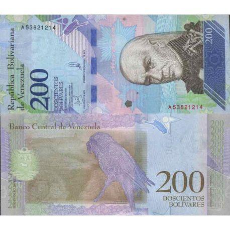 Billet de banque collection Venezuela - PK N° 999 - 200 Bolivar