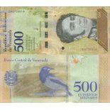 Biglietto di banca raccolta Venezuela - PK N° 999 - 500 bolivar