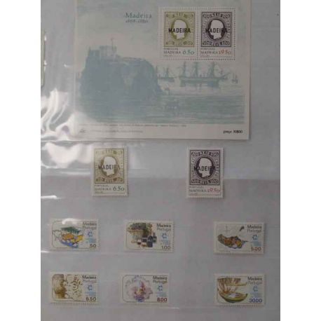 Colección de sellos de Azores, 1980 a 2006