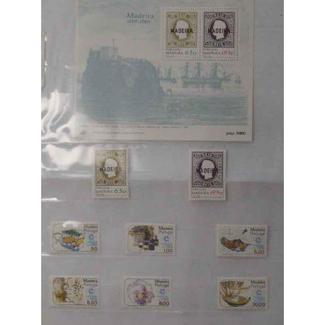 Stempelsammlung vom die Azoren, 1980 bis 2006