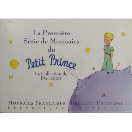 France Coffret Brillant Universel Petit Prince 2000