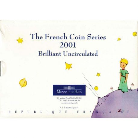 France Coffret Brillant Universel Petit Prince 2001