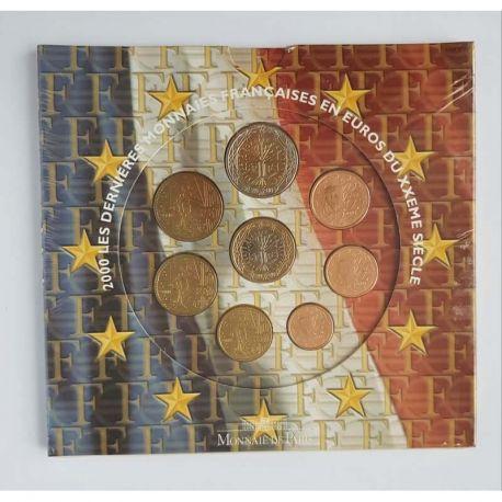 France 2000 Série euro en coffret brillant universel