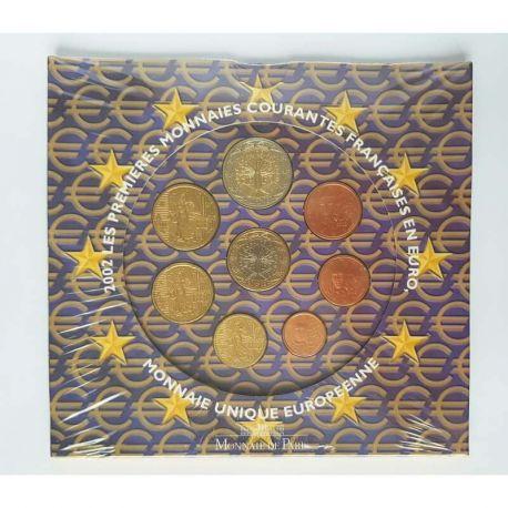 France 2002 Série euro en coffret brillant universel