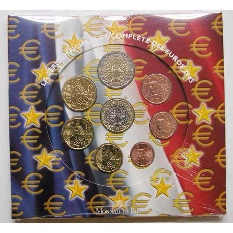 France 2003 Série euro en coffret brillant universel