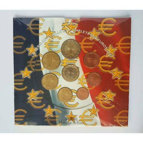 France 2004 Série euro en coffret brillant universel