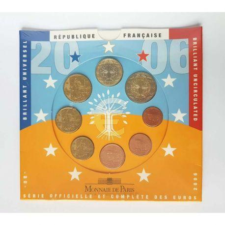 France 2006 Série euro en coffret brillant universel