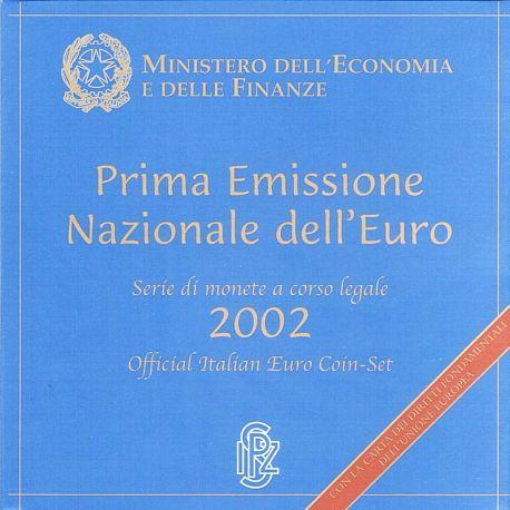 Italie 2002 Coffret Brillant Universel