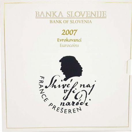 Slovénie 2007 Coffret Brillant Universel