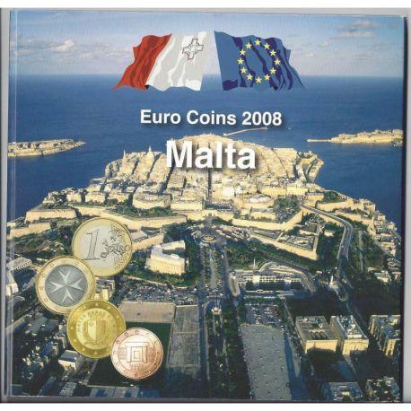 Malte 2008 Coffret Brillant Universel