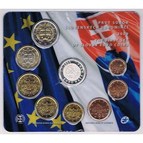 Slovaquie 2009 Coffret Brillant Universel