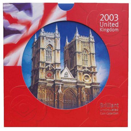 Royaume Uni 2003 Coffret Brillant Universel de 10 monnaies
