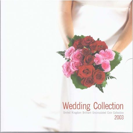 "Royaume Uni 2003 ""Wedding"" Coffret Brillant Universel de 10 monnaies"